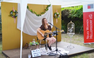 So war unser Open-Air-Konzert mit Sarah Bird